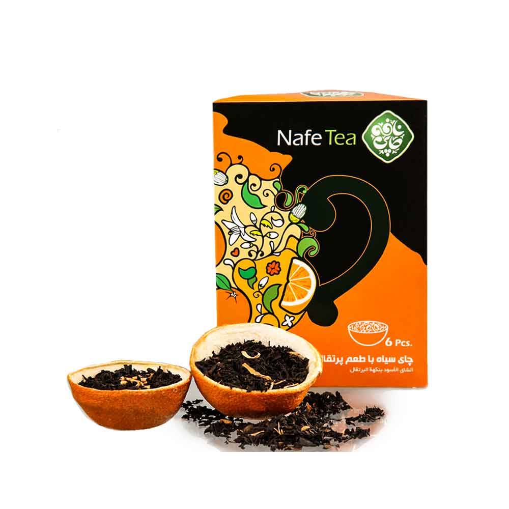 Organic Black Tea With Orange Flavour